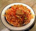 тарелка с квашеной капустой