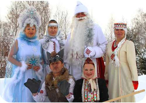 Дед Мороз Мари Эл