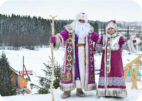 Удмурский Дед Мороз