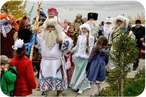 Ямало -Ненецкий Дед Мороз