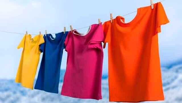 Цветные футболки