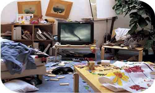 Уборка комнаты - разбираем кучи