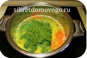 овощи в кастрюле
