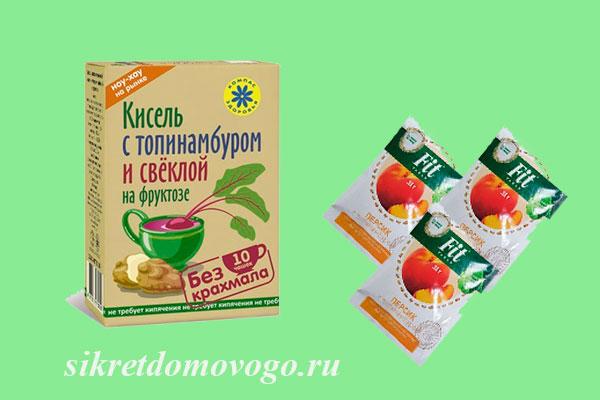 продукты из топинамбура