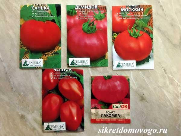 семена томатов для открытого грунта