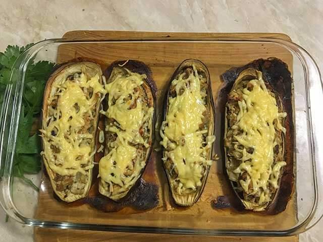 Лодочки с сыром