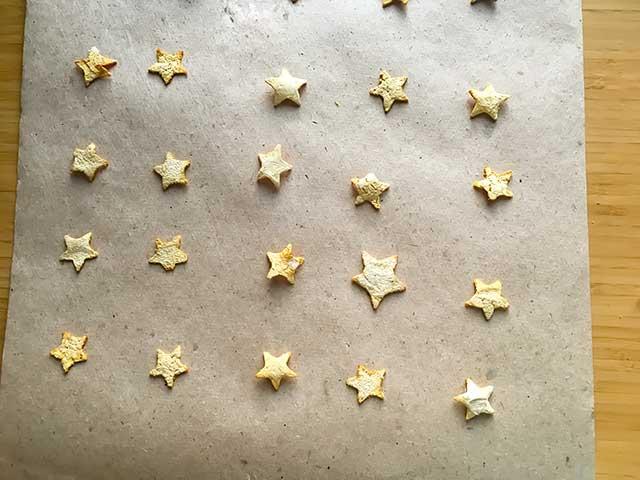 Выкладываем звезды
